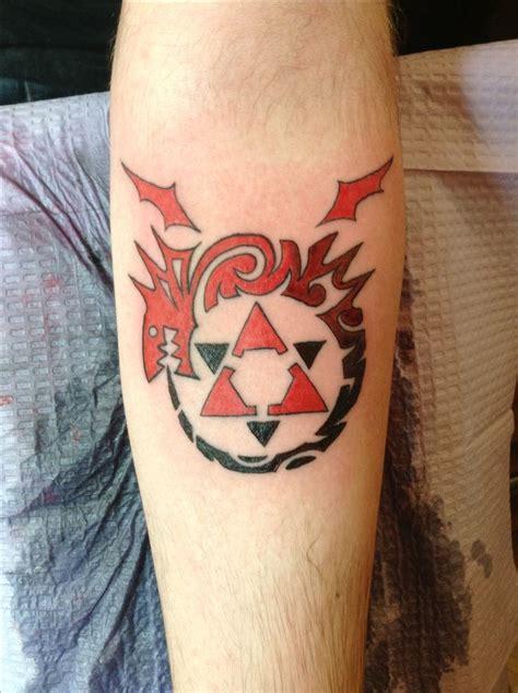 full metal alchemist tattoo designs ouroboros tattoo
