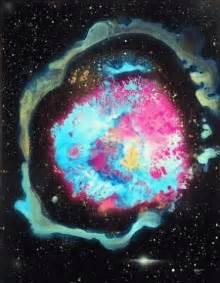 Super Nova in a Black Hole in Space