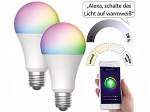 Lampen Wlan Steuerung : luminea home control wlan gl hbirnen alexa 2er set wlan ~ Watch28wear.com Haus und Dekorationen
