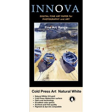format for a letter innova cold press textured white paper 25002 b h 25002