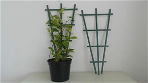 Clip On Plastic Plant Pot Top Support Trellis For Climbing
