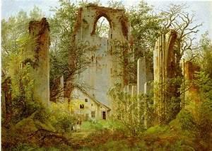 Caspar David Friedrich Romantik : klosterruine ~ Frokenaadalensverden.com Haus und Dekorationen