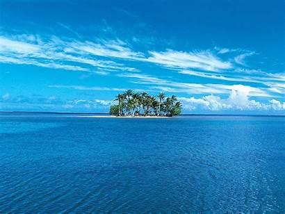 Ocean Wallpapers Island Marvelous Lonely Looking Background