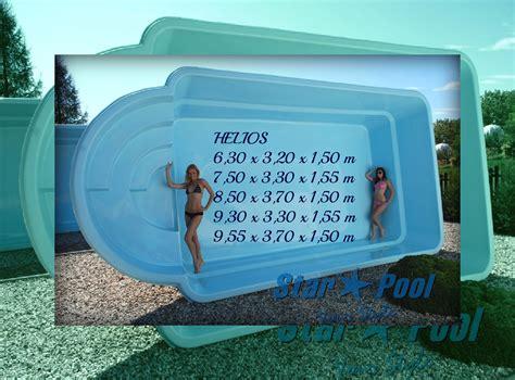 Whirlpool Garten Aus Polen by Gfk Schwimmbecken Set Helios 6 3 Inkl Abdeckung Klasik Gfk