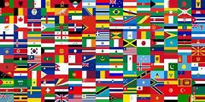 100 Bandiere del Mondo da Stampare e Ritagliare ...