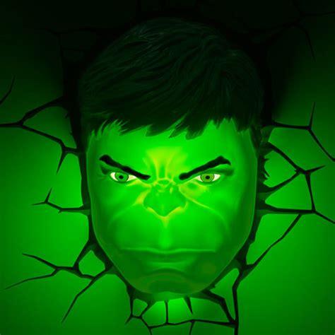 3D Deco Superhero Wall Lights   ThinkGeek