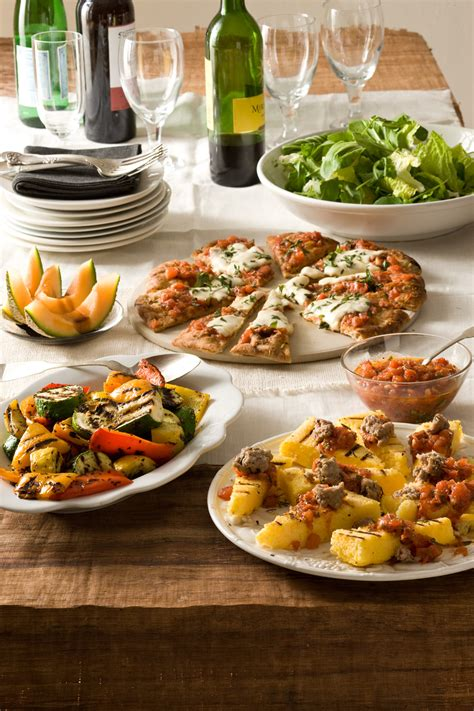italian style grilled dinner relish