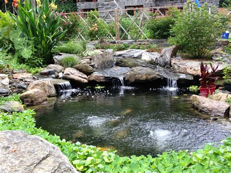best ponds how to choose the best stone for your pond aquareale pond blog
