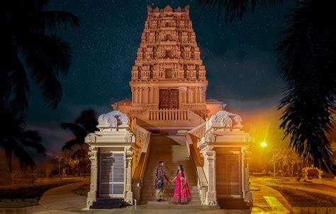 hindu temple  florida  night tampa fl miami