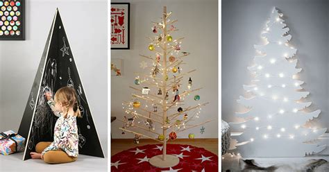 modern christmas trees   decorate