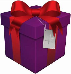 Gift clipart purple - Pencil and in color gift clipart purple
