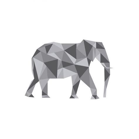 Descargar Templates Gratis Scribble Drawing After Effects by Ilustraci 243 N De Elefante Poligonal Descargar Vectores Gratis