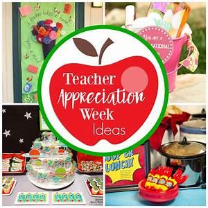 Fun Teacher Appreciation Week Ideas – Fun-Squared