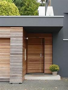 Garage Mit Holz Verkleiden : fotofrage hauseingang die zweite vorgarten in 2019 ~ Watch28wear.com Haus und Dekorationen
