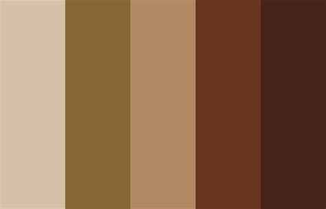 Coffee-inspired Color Palette.