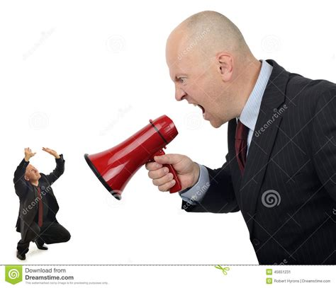 Stock Images Business Bully Stock Photo Image 45651231