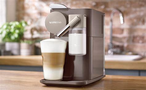 machine nespresso lattissima  marron enbw delonghi