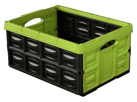 Stabile Klappbox 45l Faltbox Transportbox Box Einkaufskorb