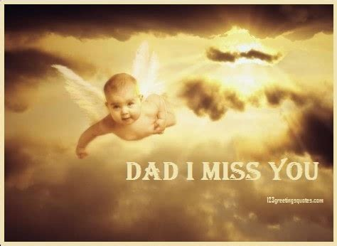 """Happy fathers day wishes from son. Fathers Day Poems from Baby in Heaven """"MISS YOU DADDY ..."""