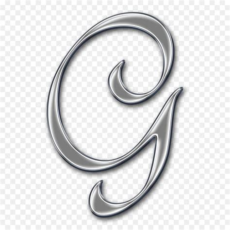 Letra G En Cursiva