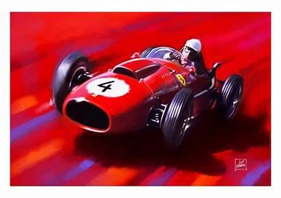 Ferrari F1 Dino Von Wolfgang Trips Prints