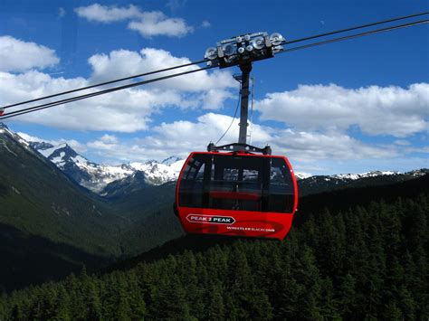 Filetelepherique Canada Vancouver Whistler Blackcomb