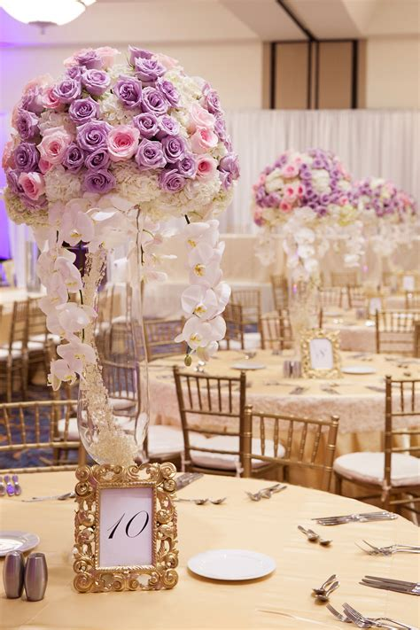Lavender And Pink Centerpiece Great Party Decor