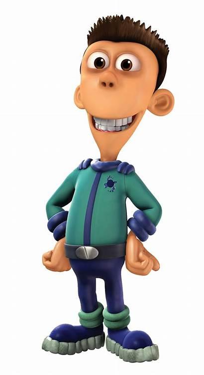 Jimmy Neutron Sheen Estevez Wheezer Carl Characters