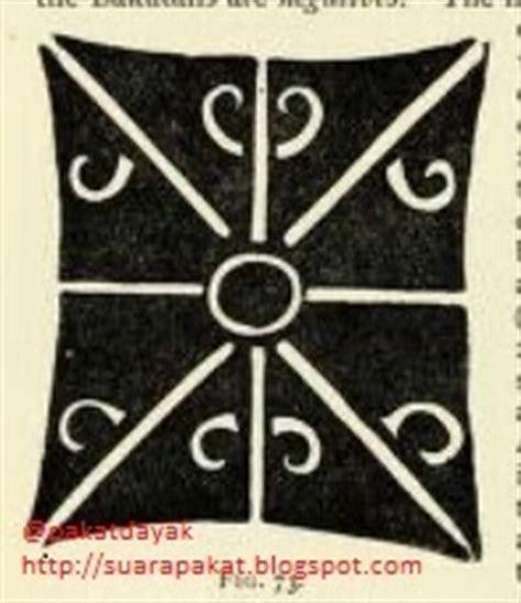 pakat dayak gambar motif motif tato dayak bagian iii