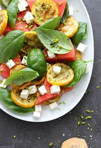 Salat Mit Zucchini : wassermelonen feta salat mit zucchini basilikum emma bee ~ Lizthompson.info Haus und Dekorationen