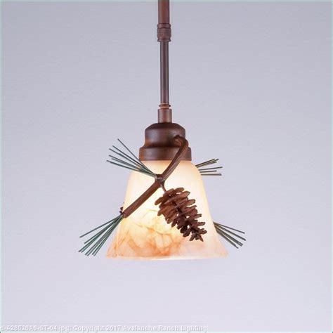 pendant single pine cone rustic pine cone