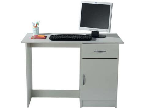 bureau 1 porte 1 tiroir osiris coloris blanc vente de bureau conforama