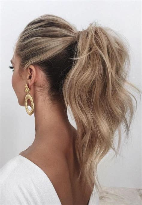 Ponytail Hairstyles by 28 Casual Wedding Hairstyles For Effortlessly Chic Brides