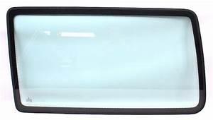 Lh Rear Side Window Exterior Glass 92