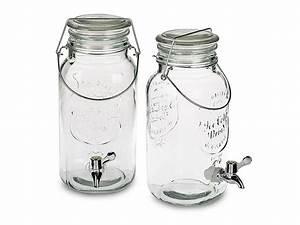 Getränkespender Glas Mit Zapfhahn : getr nkespender mit zapfhahn 4 0 liter hochwertiges glas ~ Markanthonyermac.com Haus und Dekorationen