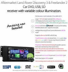 7 U0026quot  Land Rover Discovery 3 Freelander 2 Car Dvd Player Usb