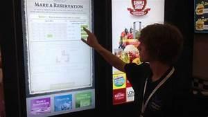 Digitales Info Display Seat : interactive touch screen digital menu board retail ~ Kayakingforconservation.com Haus und Dekorationen
