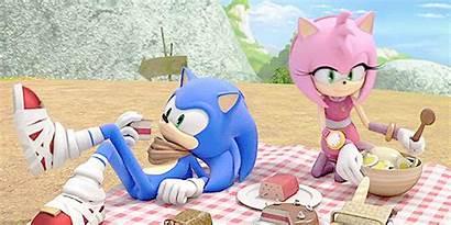 Sonamy Sonic Amy Boom соник Earthbender источник