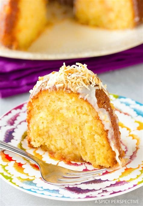 caribbean spiced rum cake  spicy perspective