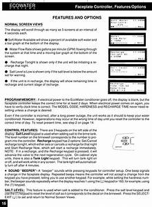 Ecowater Systems 7243748 Water Conditioner User Manual Cover