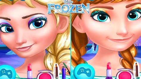 Frozen Prom Makeup Design Disney Princess Elsa And Anna