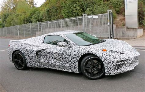 mid engined corvette   logo  release date