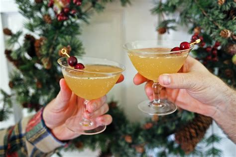 holiday cocktails holiday cocktail ginger bell bourbon hgtv