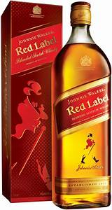 Whisky Johnnie Walker, Red Label, 1 L – price, reviews