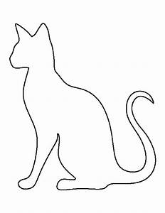 siamese cat pattern use the printable outline for crafts With caterpillar outline template