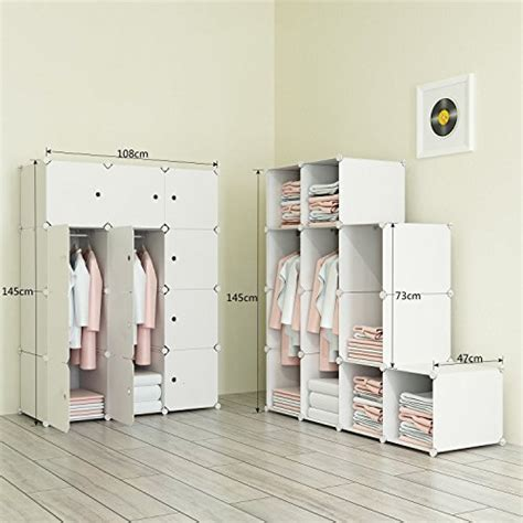 Wardrobe Cabinet For Hanging Clothes by Megafuture Portable Wardrobe For Hanging Clothes