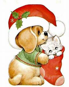 Image result for cute christmas animals clipart | Happy ...