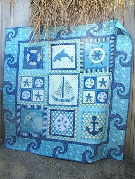 themed quilt patterns themed quilts and comforters by the sea wall quilt