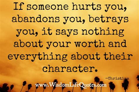 If Somebody Hurt You Quotes