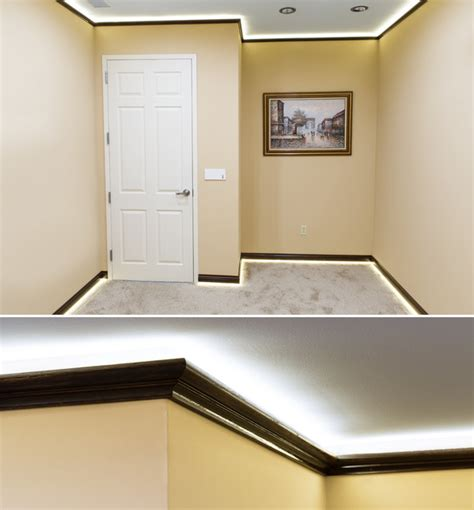 Led Crown Molding Accent Lighting  Home Office  St Louis